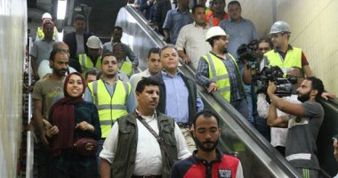 وزير النقل يتابع تنفيذ المرحلة الرابعة للخط الثالث للمترو