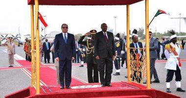 مصر والسودان يتفقان نحو مواصلة تعزيز التعاون المشترك لصالح البلدين
