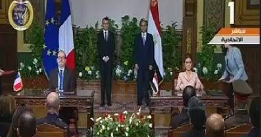 سحر نصر توقع اتفاقية لـ منحة فرنسية بهدف دعم الحماية الاجتماعية