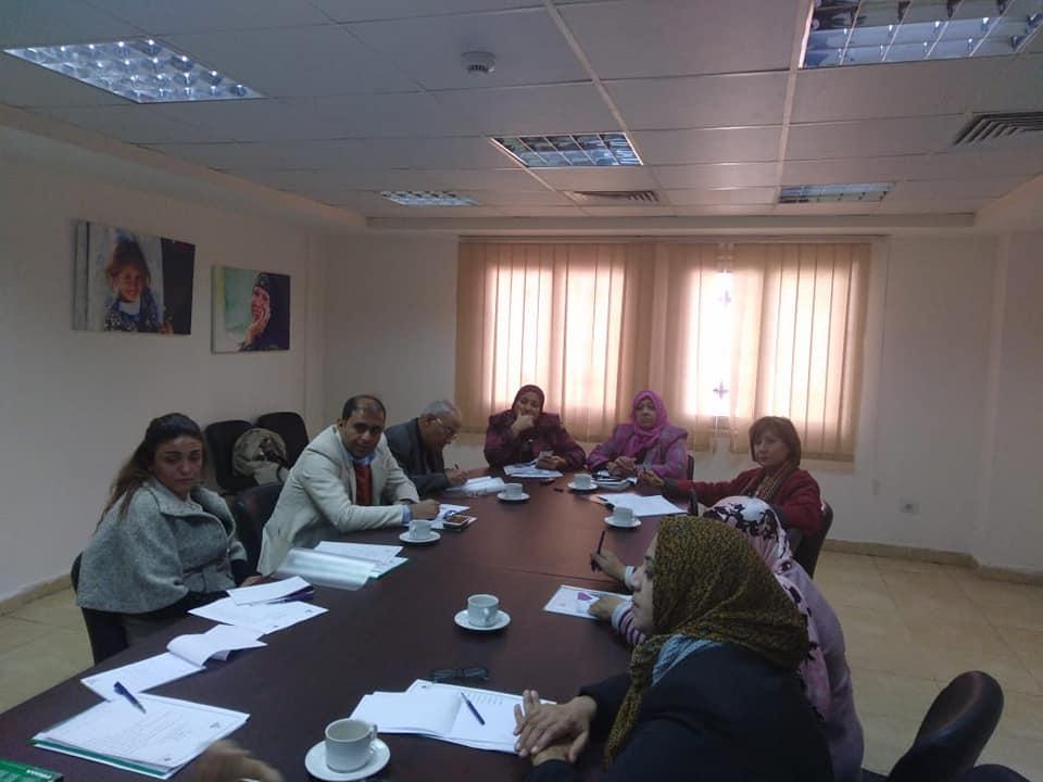 لجنة المحافظات بالمجلس القومى للمرأة تعقد اجتماعها الدورى