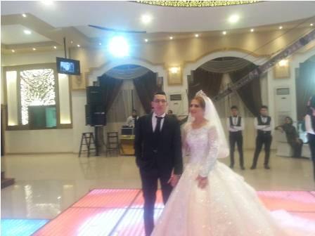 """"""" القمة نيوز """" تهنئ العروسين بمناسبة الزفاف السعيد"""
