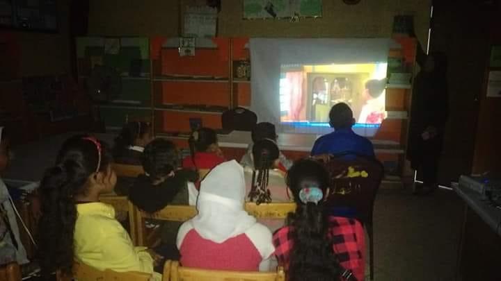 فرع ثقافة أسوان يقيم عروض أفلام نادى سينما الأطفال