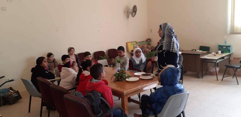 تعليم زراعة النباتات المنزلية بقصر برج العرب