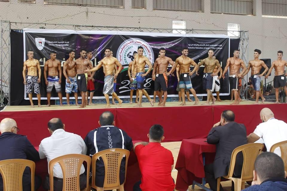"""اتحاد بناء الأجسام يُنظم بطولتي: فلسطين للناشئين والمفتوحة لـ """"الفيزيك"""""""