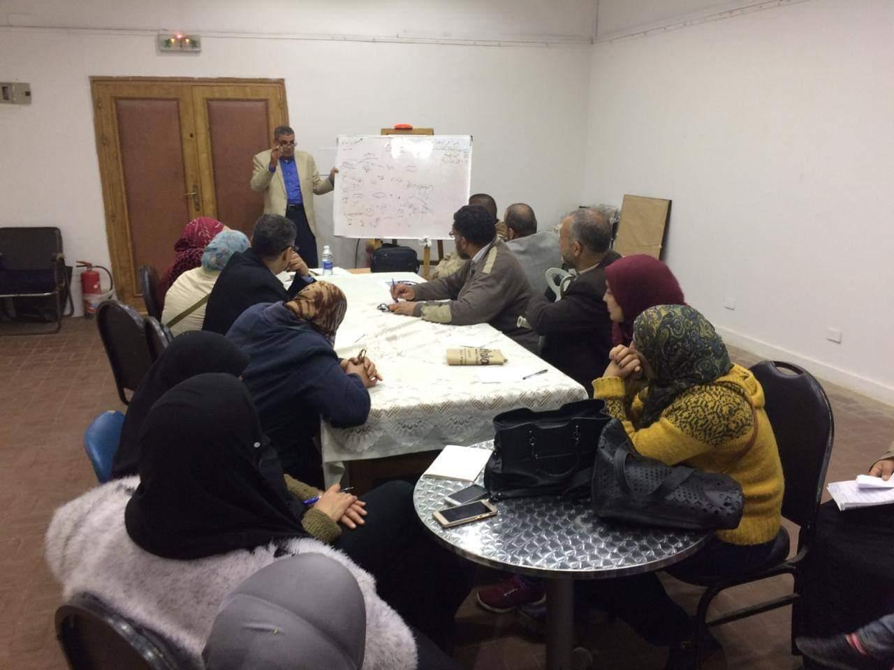 المركزية للتدريب تستكمل قانون خدمة مدنية بدمياط
