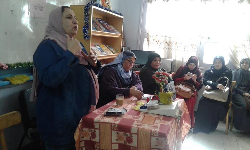 مناقشة الصحة الانجابية للمرأة بمجمع إعلام السلام
