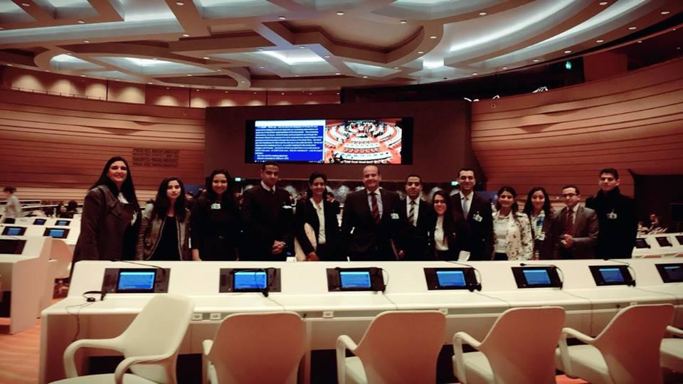 البرنامج التدريبى الخارجى لشباب الدبلوماسيين، فى المنظمات الدولية بالمقر الاوروبى للأمم المتحدة