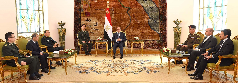 وزير دفاع الصين يوضح حرص بلاده على تطوير علاقاتها مع مصر