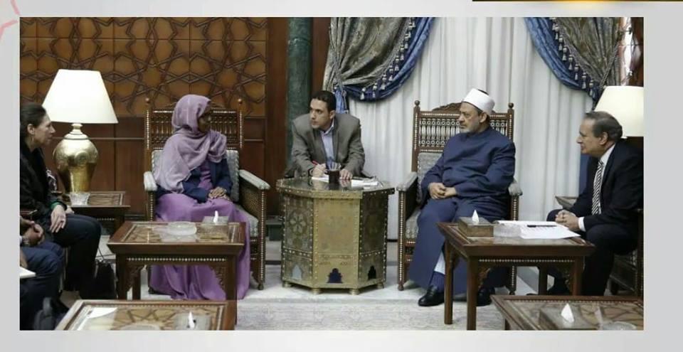 وزيرة الصحة الصومالية تؤكد أن بلادها لا تنسي مساندة الأزهر لها