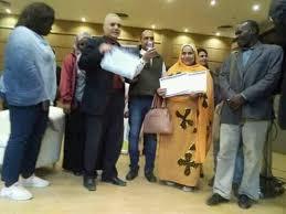 تكريم مبادرة مصر والسودان ايد واحده بمؤتمر الإعلام التربوية