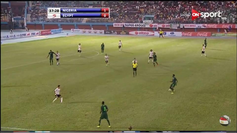 نيچريا تفوز علي مصر «باسرع هدف» في اول هزيمة مع اجيري