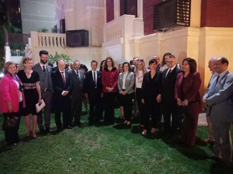 وزيرة الهجرة تلتقي وفد غرفة التجارة والصناعة الأسترالية العربية بمصر