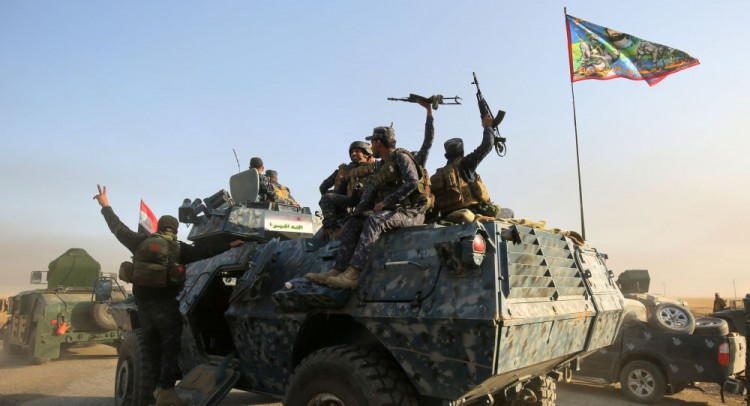 القوات العراقية تقتل 14 إرهابيا في شمال البلاد
