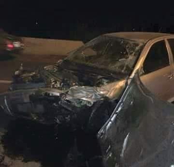 إصابة سائق توكتوك فى حادث تصادم بمدخل النخيلة جنوب أبوتيج