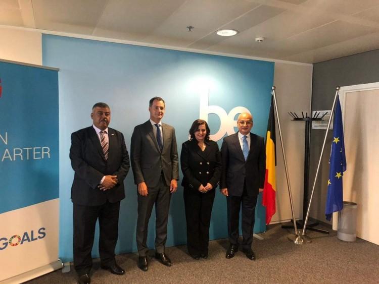 نائب وزير الزراعة تبحث مع نائب رئيس الوزراء البليجيكي التعاون المشترك