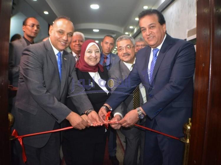 وزير التعليم العالى يفتتح مكتب براءات الاختراع المصري