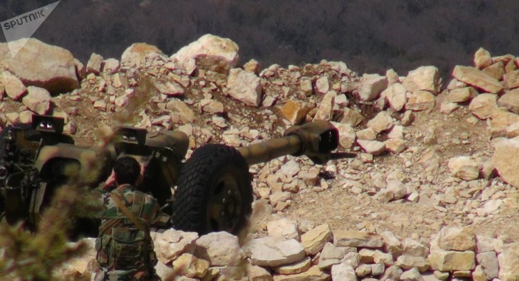 مركز المصالحة الروسي: المسلحون يقصفون محافظتي حماة واللاذقية