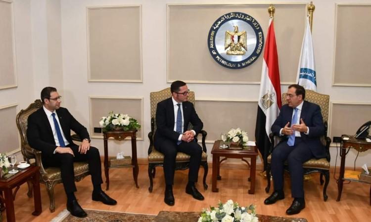 وزير البترول يبحث مع «وينتيرشال ديا» الألمانية خطط الشركة بمصر لزيادة الإنتاج