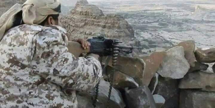 قوات اللواء الثالث حرس حدود تتقدم بجبال مديرية باقم شمال محافظة صعدة