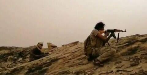 قوات اللواء الثالث حرس حدود تحرر عددا من المواقع وتوقع قتلى وجرحى من المليشيا الحوثية