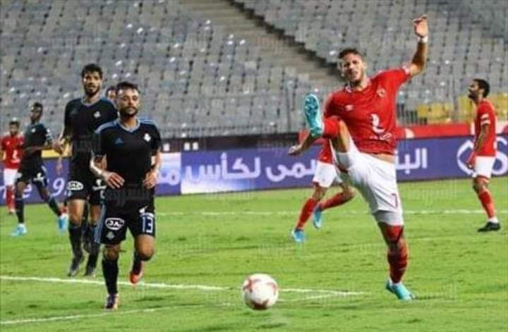 بهدف تراوري بيراميدز يطيح بالاهلي من كأس مصر
