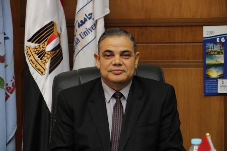 دسوقي يوجه الشكر لرئيس الجمهورية ووزير التعليم العالي على ثقتهما لتعيينه رئيسا لجامعة كفر الشيخ
