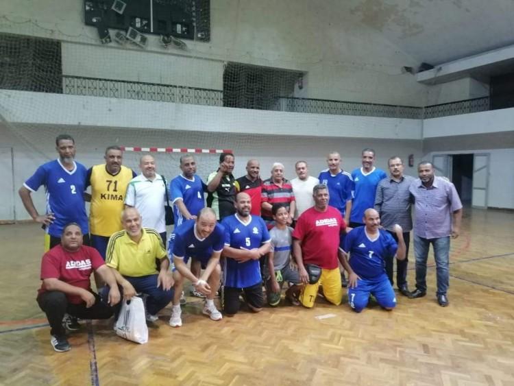 فوز كيما على بنك القاهرة فى كرة اليد بدورى الشركات ببورسعيد