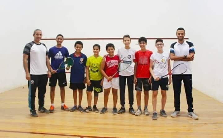 ٩ لاعبين يمثلون نادي المنيا ببطولة الإتحاد المصري للإسكواش بنادي الصيد