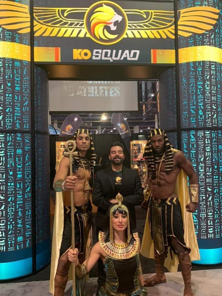 اشادة عالمية بالفريق المصري لكمال الاجسام في مستر اولمبيا للمحترفين