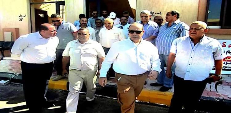 """اللواء """"محمود نصار"""" في زيارة لجهاز تعمير البحر الأحمر"""
