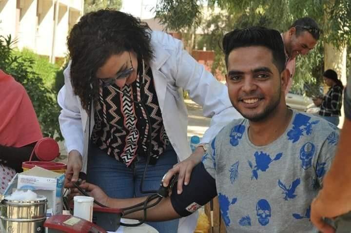 """جامعة المنيا """"تشن  حملاتها للتبرع بالدم لمُصابي العمليات الإرهابية بـ""""سيناء"""""""