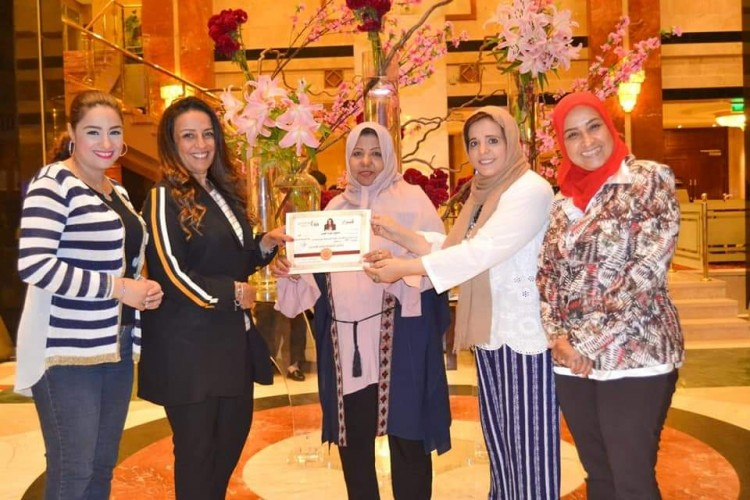 حفل تكريم بمناسبة تجديد اختيار الدكتورة فوزية الهونى مستشارا ومتحدثا رسميا لشبكة اعلام المرأه العربية