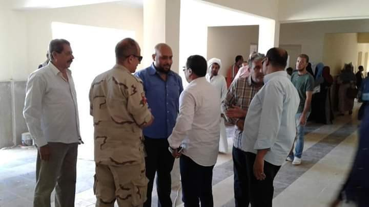 المستشفى العسكرى بالغردقه تنظم قافلة طبية بمرسى علم مرسى علم البحر الاحمر