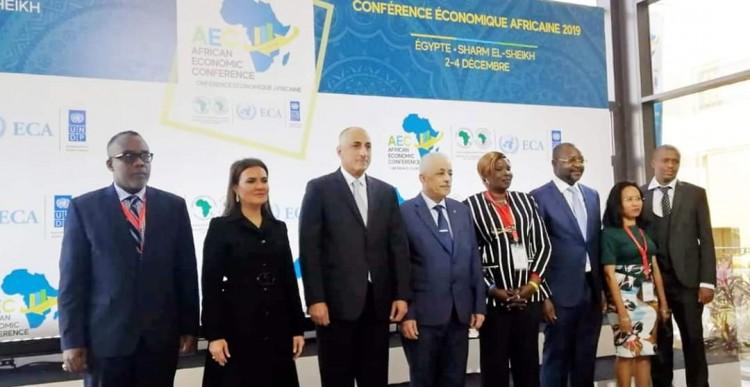 محافظ البنك المركزى ووزيرة الإستثمار يفتتحان المؤتمر الإقتصادي الأفريقى بشرم الشيخ