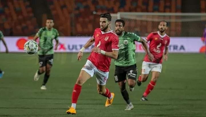 ازارو يفك عقدته ويسجل هدفين ويقود الأهلي للفوز علي بني سويف في كأس مصر