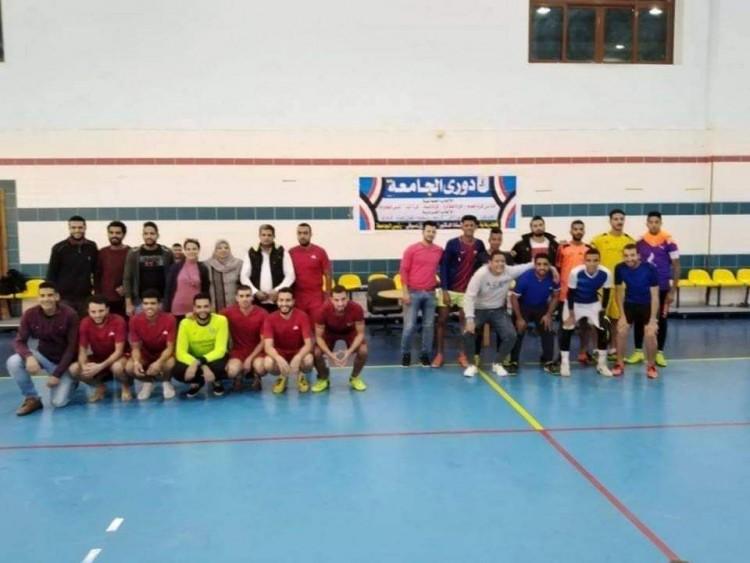 جامعة كفر الشيخ تعلن النتائج النهائية لدوري الألعاب الجماعية لكليات
