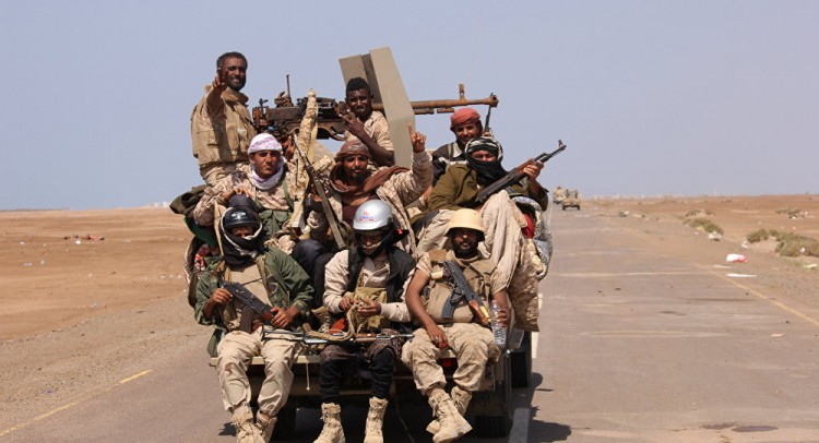 """اليمن... القوات المشتركة تعلن إلحاق خسائر بـ""""أنصار الله"""" جنوبي الحديدة"""