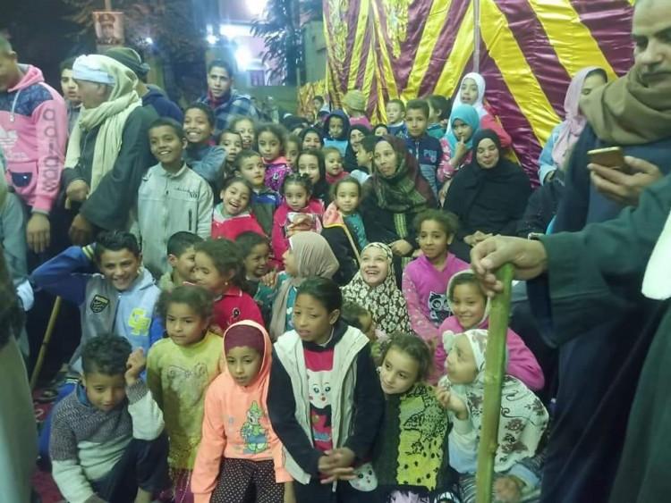 تفاعل أبناء منشأة زعفرانة مع شعبية ملوى  فى الأسبوع التاسع  للمواطنة