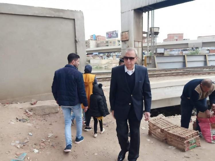 محافظ القليوبية يقوم بجولة مفاجئة بشوارع مدينة بنها