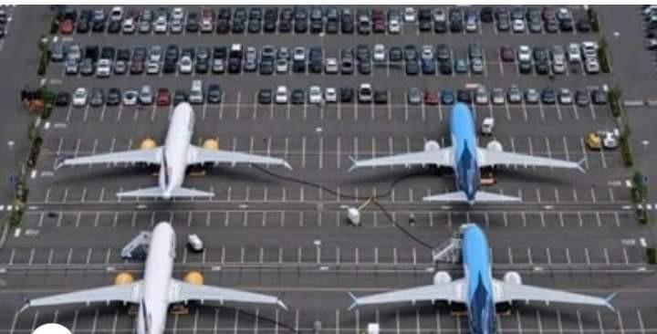 أزمة البحث عن أماكن لوقوف الطائرات بعد توقف حركة الطيران العالمية