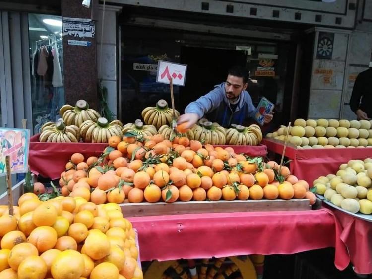 سعد الله يوجة بشن حملات مكثفة علي اسواق الخضر والفاكهة باسواق الاسكندرية