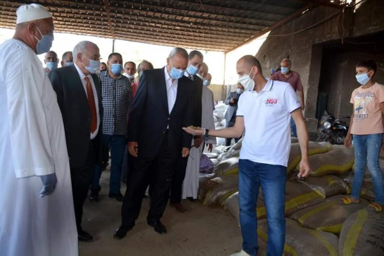 محافظ القليوبية :لن نتراجع عن إعادة المظهر الحضاري لمدينة بنها  والقضاء علي العشوائيات