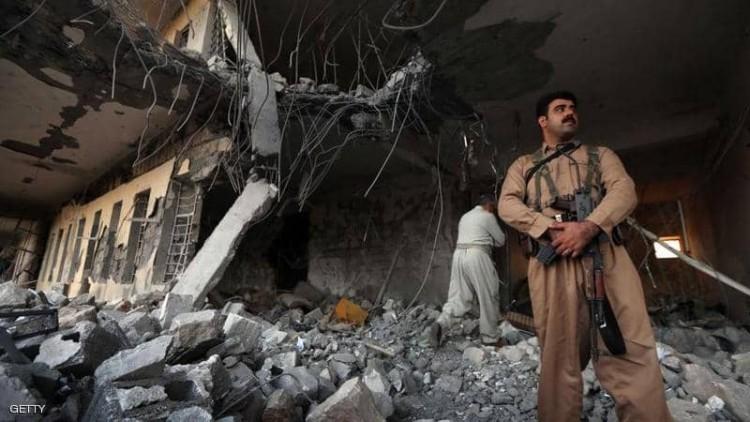 الحرس الثوري الإيراني يقصف مواقع كردية على حدود العراق