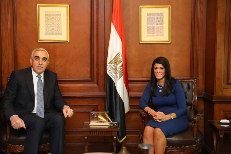 وزيرة التعاون الدولي تبحث مع السفير العراقي ترتيبات انعقاد اللجنة العليا المشتركة