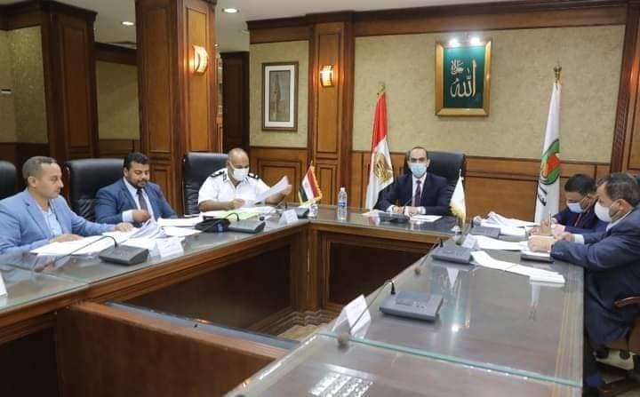 نائب محافظ سوهاج يترأس الاجتماع الثاني عشر للجنة مراجعة تراخيص أعمال البناء