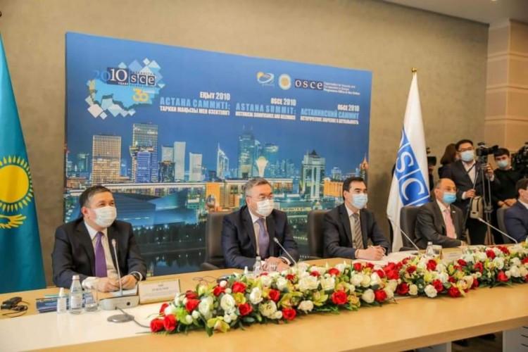 منظمة الأمن والتعاون تعقد مؤتمرا دوليا في كازاخستان