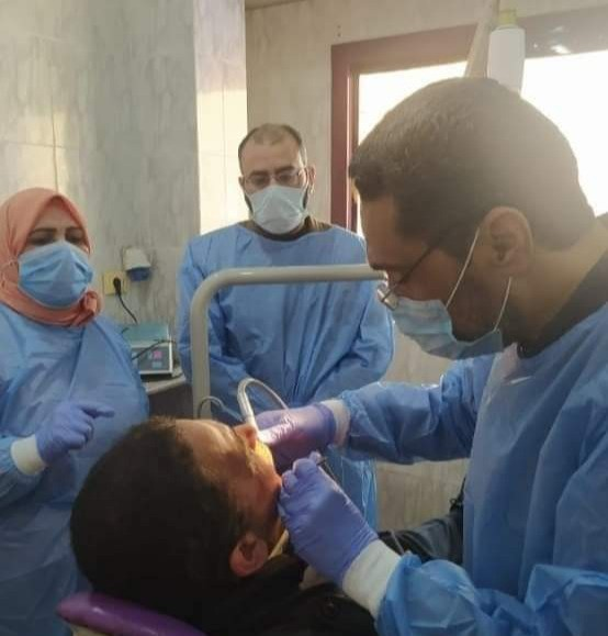 مديرية الصحة بالبحيرة تنظم يوم لعلاج الأسنان بالمجان