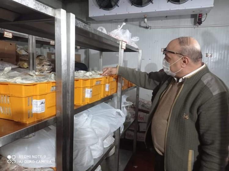 سعدالله : يترأس حملة للتفتيش علي اماكن تقديم الوجبات الجاهزة والمطاعم بالاسكندرية