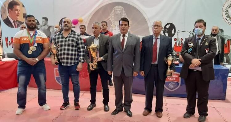 الفراعنة أبطال البطولة العربية الثانية للقوة البدنية