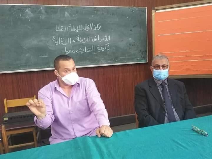 ندوة بمركز النيل للإعلام بقنا بعنوان الوقايه خيرمن العلاج